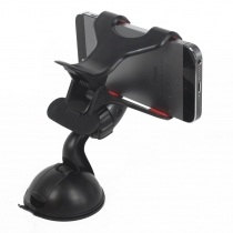 Windshield Dashboard Universal Car Mount Holder for iPhone 4S/5/5S/5C, Galaxy S4/S3/S2, Smartphones, Android Phones QC-ZJ02