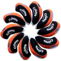 Callaway Golf Iron head Covers 10pcs/set black & orange MT-C08