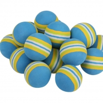 100 GOLF PRACTICE BALLS RAINBOW Sponge FOAM BALL TRAINING INDOOR teal