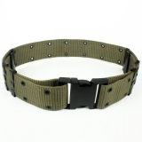 Adjustable Security Military Webbing Tactical Belt/Pistal Belt ArmyGreen CS-YD02