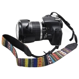 Vintage Multicolor Camera Neck Shoulder Strap Belt for Canon Nikon XJ/BD-01