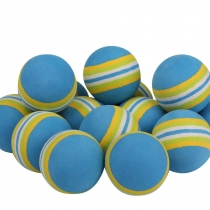 40 GOLF PRACTICE BALLS RAINBOW Sponge FOAM BALL TRAINING INDOOR teal