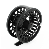 "Andux Aluminum Fly Fishing Reel 3 3/8"" Large Arbor 7/8 85mm Fl-03 Black"