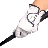 Andux Golf Gloves Slip Resistant Leather Gloves Sports Gloves GFST-01 (left hand, 26)
