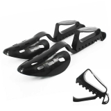 Andux Plastic Shoe Tree Shoe Stretcher Black XC-01