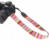 Vintage Style Multicolor Camera Neck Shoulder Strap Belt for Canon Nikon XJ/BD-05