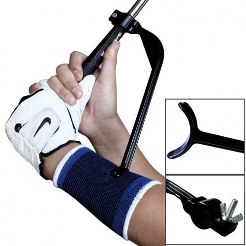 Golf Swing Trainer Angle Upgrade Training aid Correct + Wrist Protection JZQ-03
