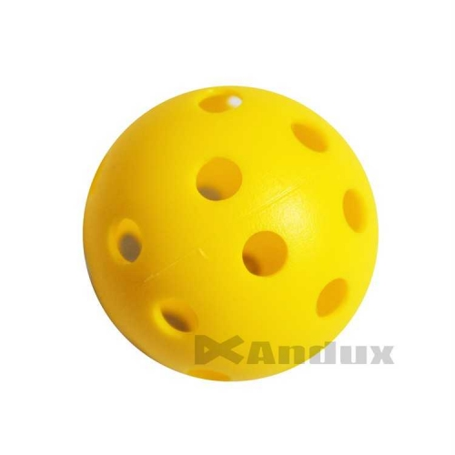 40 golf plastic practice balls air flow ball golf swing trainer aid yellow