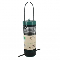 Andux Land Green Wild Bird Feeder,Peanut/Sunflower Screen Feeder CW/NL01