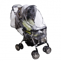 Andux Land Universal Size Baby Waterproof Stroller Rain cover Wind Shield Pushchairs Weather Shield FYZ-02