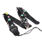 Andux Land Guitar Strap For Electric Guitar , Classical Vintage Bass and Acoustic Guitar YQ/JTD-03
