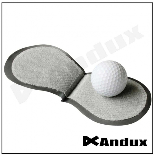 Andux Golf Ball Cleaner Clean the Ball Wet Dry Inside Your Pocket