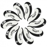 Callaway Golf Iron head Covers 10pcs/set black & white MT-C09