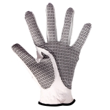 Andux Golf Gloves Slip Resistant Leather Gloves Sports Gloves GFST-01 (left hand, 25)
