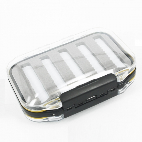 Andux Super Small Double Side Waterproof Fly Box Slit Form Fly Fishing FDH-03