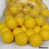 Andux 36 Golf Soft light PU Foam Practice Ball Balls Yellow