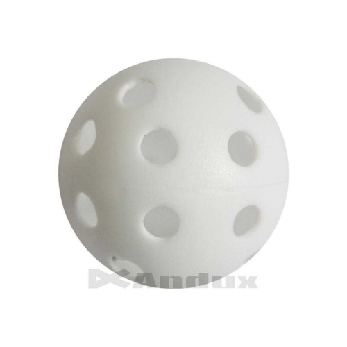 100 golf plastic practice hole balls air flow ball golf swing trainer aid white